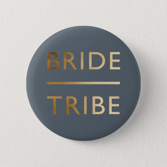 minimalist elegant bride tribe gold foil text 6