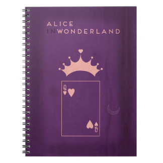 Minimalist Fairy Tales | Alice in Wonderland Notebook