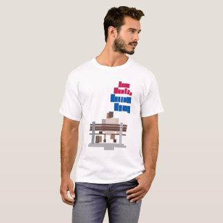 Minimalist Forest Gump Movie Poster Shirt