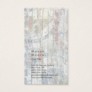 Minimalist Grey Wall Plain Modern Professional Business Card