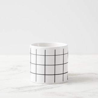 Minimalist Gridline Mug