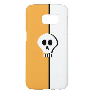 Minimalist Halloween Skull Design