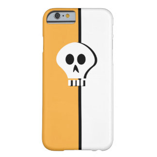 Minimalist Halloween Skull Design for iphone 6 Barely There iPhone 6 Case