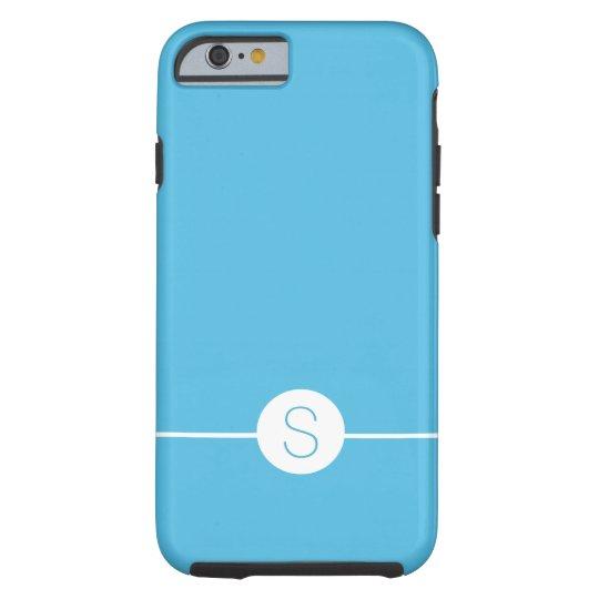 Minimalist iOS 8 Style - Plain Blue White