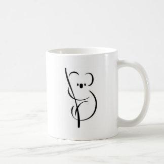 Minimalist Koala Coffee Mug