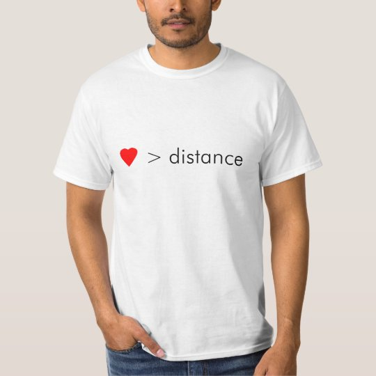 """minimalist """"love is greater than distance"""" quote"""