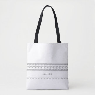 Minimalist Name Tote | Christmas Bag