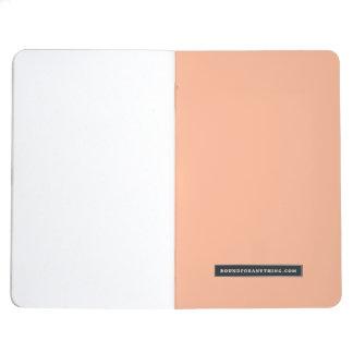 Minimalist Peach Gradient Fox Journal