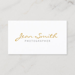Minimalist business cards zazzle uk minimalist photographer business card reheart Images