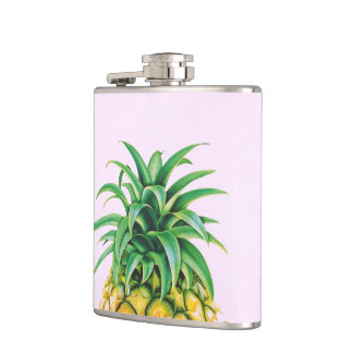 Minimalist Pineapple Hip Flask