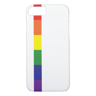 Minimalist Pride Flag iPhone 8/7 Case