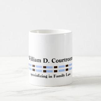 Minimalist Professional Blue Links Coffee Mug