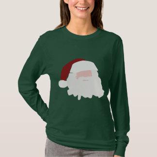 Minimalist Santa Claus Christmas Shirt
