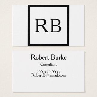 Minimalist Square Business Card