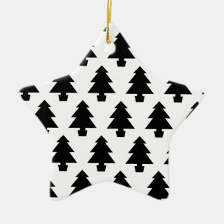 Minimalist Trees Christmas Ornament