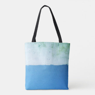 Minimalist Two Tone Blue Tote