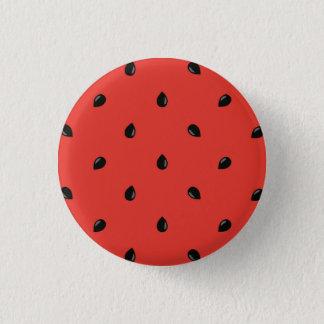 Minimalist Watermelon Seed Pattern 3 Cm Round Badge