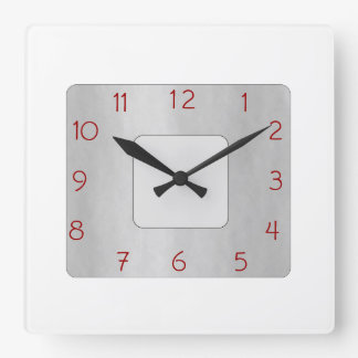 Minimalist White and Gray>Popular Wall Clock