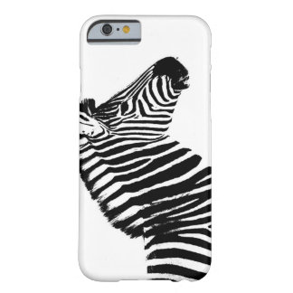 Minimalist Zebra Barely There iPhone 6 Case