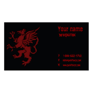 minimalistic design series 2 pack of standard business cards