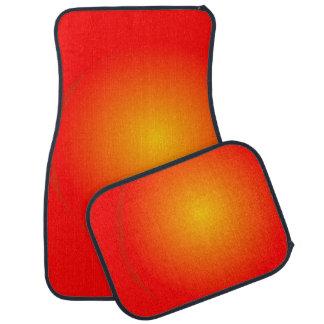 Minimalistic Eclipse Floor Mat