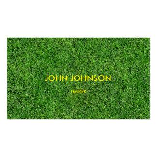 Minimalistic Modern Trainer Golf Business Card