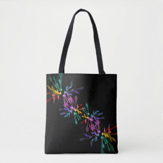 Minimalistic Rainbow Urban Chic Tote Bag