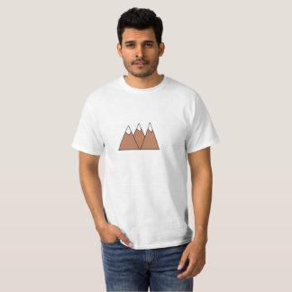 Minimalistic three mountains T-Shirt