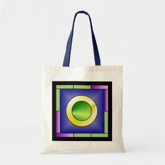 Minimalistic World Art Deco Tote Bag