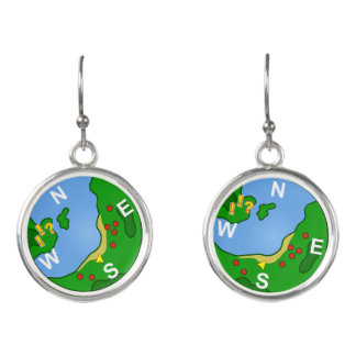 Minimap Earrings