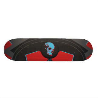 minimum iris tic Skull R&B 20 Cm Skateboard Deck