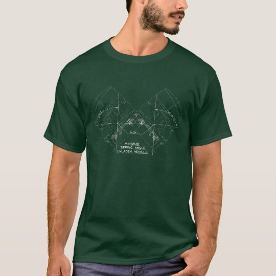 Minimum Tipping Angle Dark T-Shirt