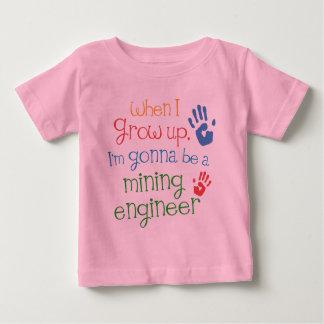 Mining Engineer (Future) Infant Baby T-Shirt