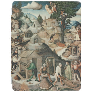 Mining landscape, 1521 iPad cover