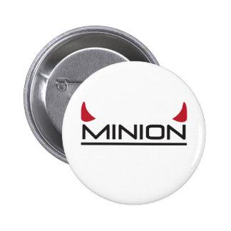 Minion 6 Cm Round Badge