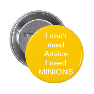 MINIONS 6 CM ROUND BADGE