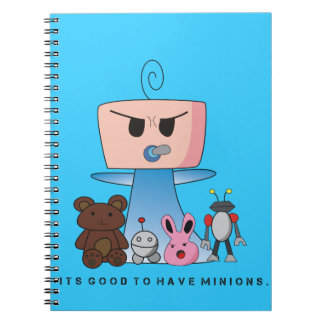 """""""Minions"""" Notebook - An Angry Baby Design"""