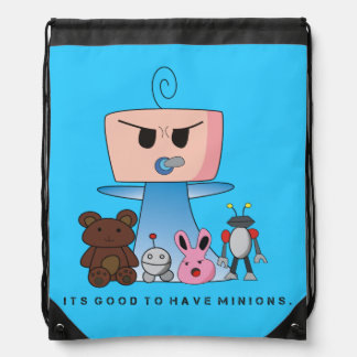 """Minions"" String Bag - An Angry Baby Design"
