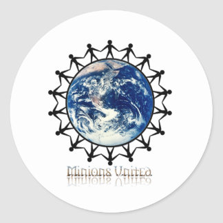 Minions United World Branded Range Sticker
