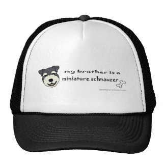 MiniSchnauzerBrother Cap