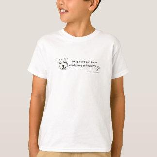 MiniSchnauzerWhiteSister T-Shirt