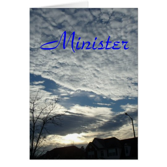 Minister Card