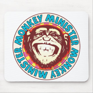 Minister Monkey Mouse Pad