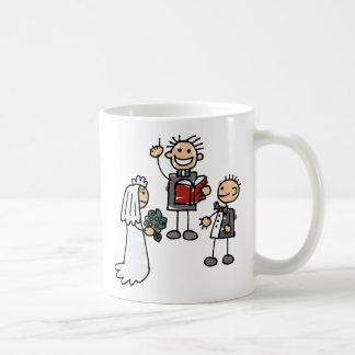 Minister Priest Reverend Performs Wedding Ceremony Basic White Mug