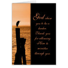 Ministry Appreciation Sunset Card