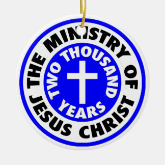 Ministry of Jesus Christ Christmas Ornament