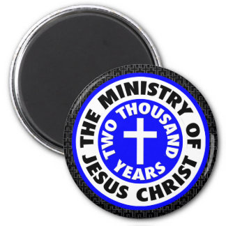 Ministry of Jesus Christ 6 Cm Round Magnet