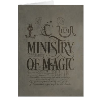 MINISTRY OF MAGIC™ GREETING CARD