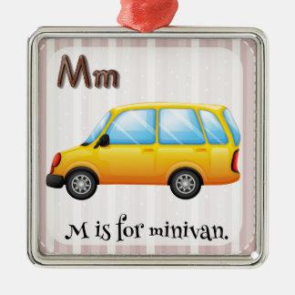 Minivan Christmas Ornament