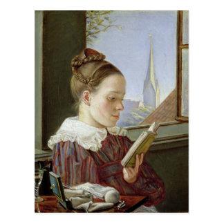 Minna Wasmann, the sister of the artist , 1822 Postcard